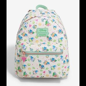 Loungefly Lilo $ Stitch Vacation vibes backpack